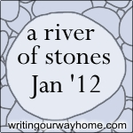 Welcome to the January River - a month of mindful writing