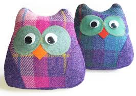 Harris Tweed owl