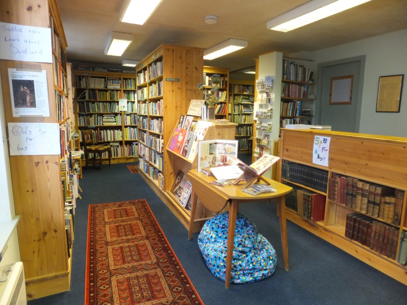 interior of the 'Open Book'
