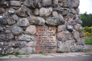 Battle of Culloden monument